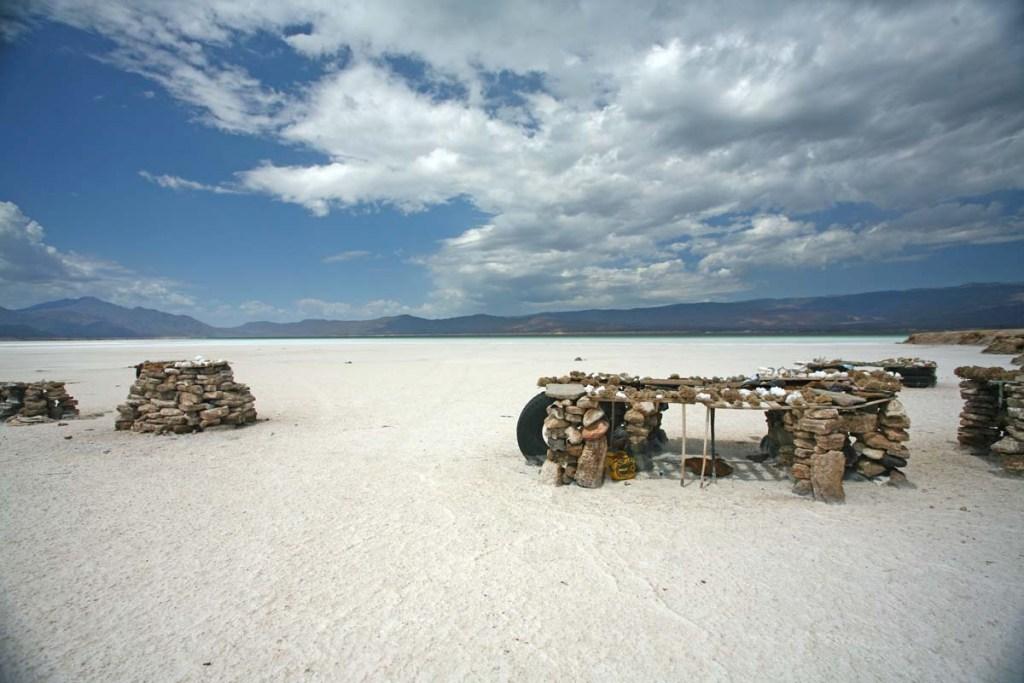 A salt beach
